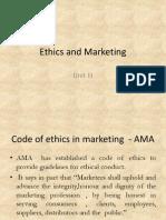 Ethics and Marketing