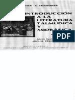 Introduccion a la literatura Talmudica y Midrasica.pdf