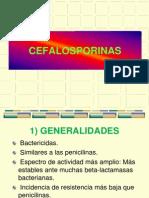 Clase 12 Cefalosporinas 2013-II