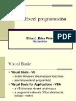 Az Excel parogramozása