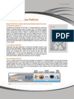 Riverbed Services Platform