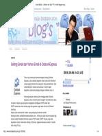 Setting Gmail Dan Yahoo Email Di Outlook Express