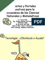 Websites y Portales Para La Educaci%F3n APRENDO 2006