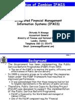 Zambia IFMIS Presentation to World Bank Meeting3