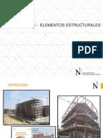 Estructuras - Elementos Estructurales