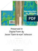 Introduction to African Civilization by John G Jackson