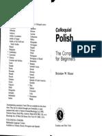 01.Colloquial Polish