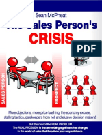 The Sales's Person Crisis