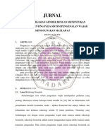 PENGKLASIFIKASIAN GENDER DENGAN MENENTUKAN TITIK-TITIK PENTING PADA SISTEM PENGENALAN WAJAH MENGGUNAKAN MATLAB 6.5