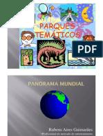 Parques Temáticos - Cenários Mundiais  By RAG
