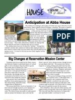 House of Friends newsletter Sept 2009