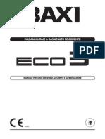 Manuale Caldaia Baxi Eco 3