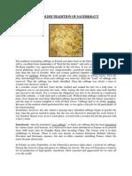 Sauerkraut tradition - The third Polish story