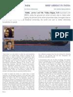 Arresting Sister Ship in India