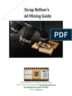 eScrap Refiners Gold Mining Guide - Rev 0.7.1