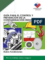 Control y Prevencion de Riesgos en Fundiciones
