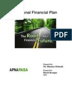 Bhaskar's Financial Planning by ApnaPaisa
