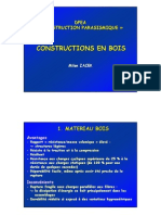08. Constructions en Bois, DPEA