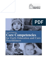 Nd Core Competencies Early Educ Care Practitioners Rev3!17!10