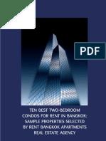 Ten best two-bedroom condos for rent in Bangkok