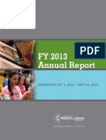 Institute of Museum and Library Services (IMLS) FY2014 Annual Report