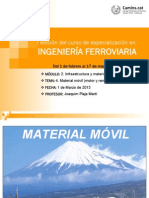 Infraestructuras Material Movil Material Movil Plaja 1.3.13