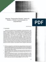Struchiner - Proposições fulcrais