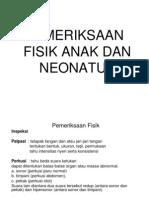 Pemeriksaan Fisik Anak & Neonatus 2010
