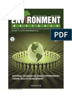 Environment Observer-National Seminar on Green Environment