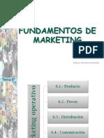 Tema 6o. Marketing Operativo