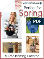 9 Free Knitting Patterns Perfect for Spring