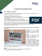 Sistem Incalzire Prin Pardoseala TECE - Informatii Generale