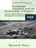 Warren R. Perry, Landscape Transformations and the Archaeology of Impact Social Disruption and State Formation in Southern Africa