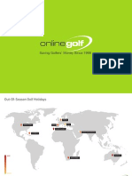 OnlineGolf Out of Season Golfing Holidays