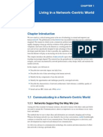 Chapt. 1 Living in a Network-Centric World, Ver 1.0