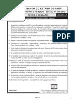 Espp 2012 Banpara Tecnico Bancario Prova