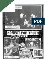 Honest For Truth Interview Fanzine #3