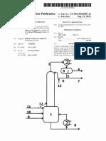 (2013) US20130245309 Acrylate Production Process