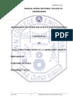 DS With C C++  Lab Manual VTU