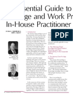 An Essential Guide to Privilege and Work Product In-House Practitioner