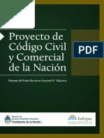 PROYECTO de Codigo Civil Comercial