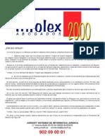 Infolex - Software Para Abogados