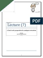 Class 1 +Class1 With Extention & Class v(Amalgam)