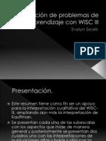 Detección de problemas de aprendizaje con WISC III