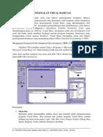 Pertemuan 1 - Pengenalan Visual Basic 6