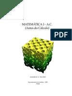 Matemática I - A.C. (Antes do Cáculo)