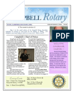 Newsletter Sept 1 2009