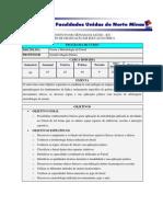 Plano de Curso Da Disciplina Futsal