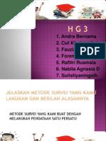H G 3 survey