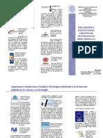 Organismos e Instituciones Científicos Tecnológicos dedicados a la Promoción, Difusión de la Ciencia y la Tecnología